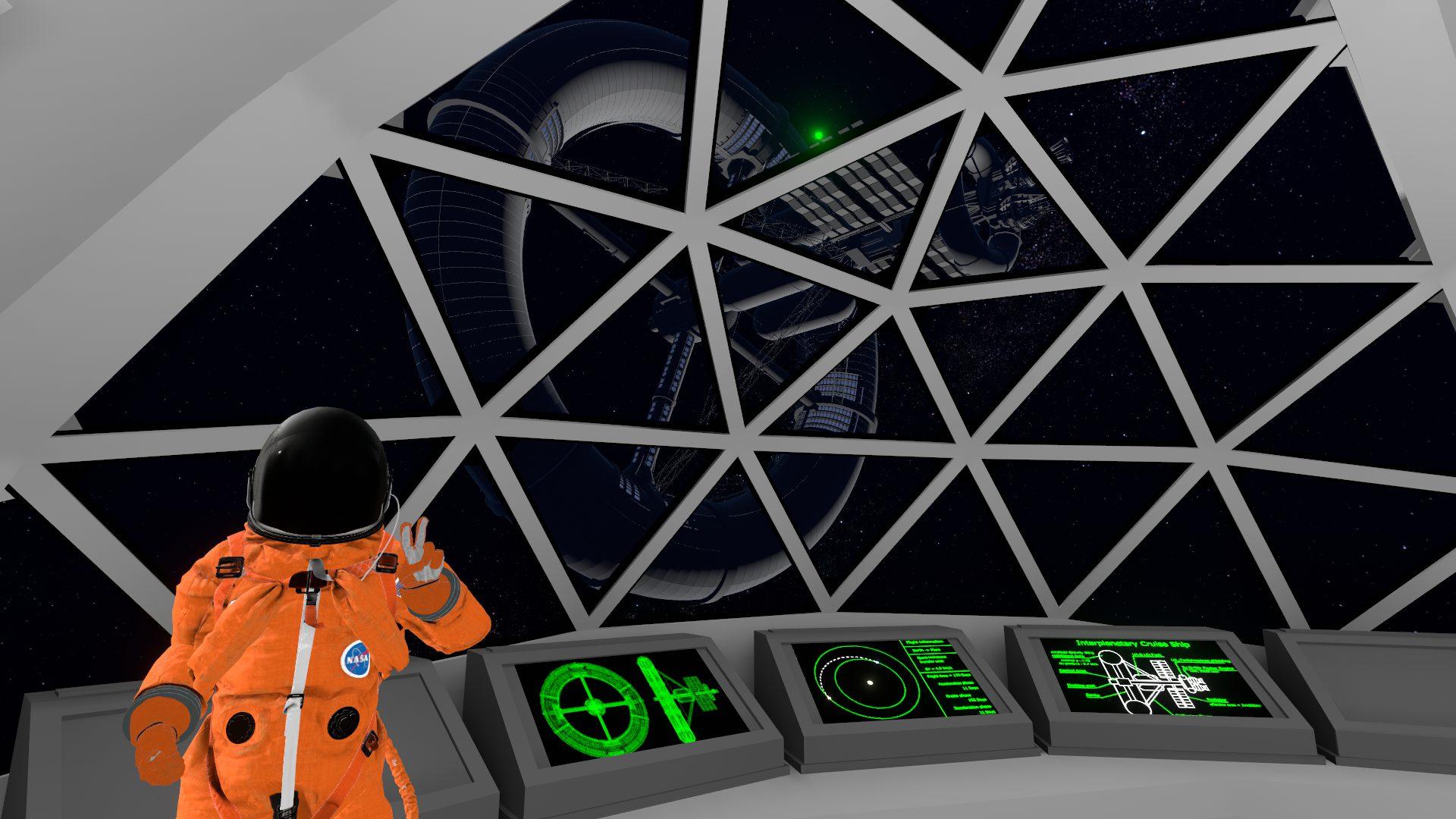 Interplanetary Cruise Ship — by S_ASAGIRI